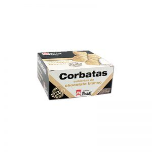 corbatas de chocolate blanco